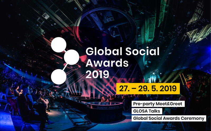 Pozvánka na Global Social Awards