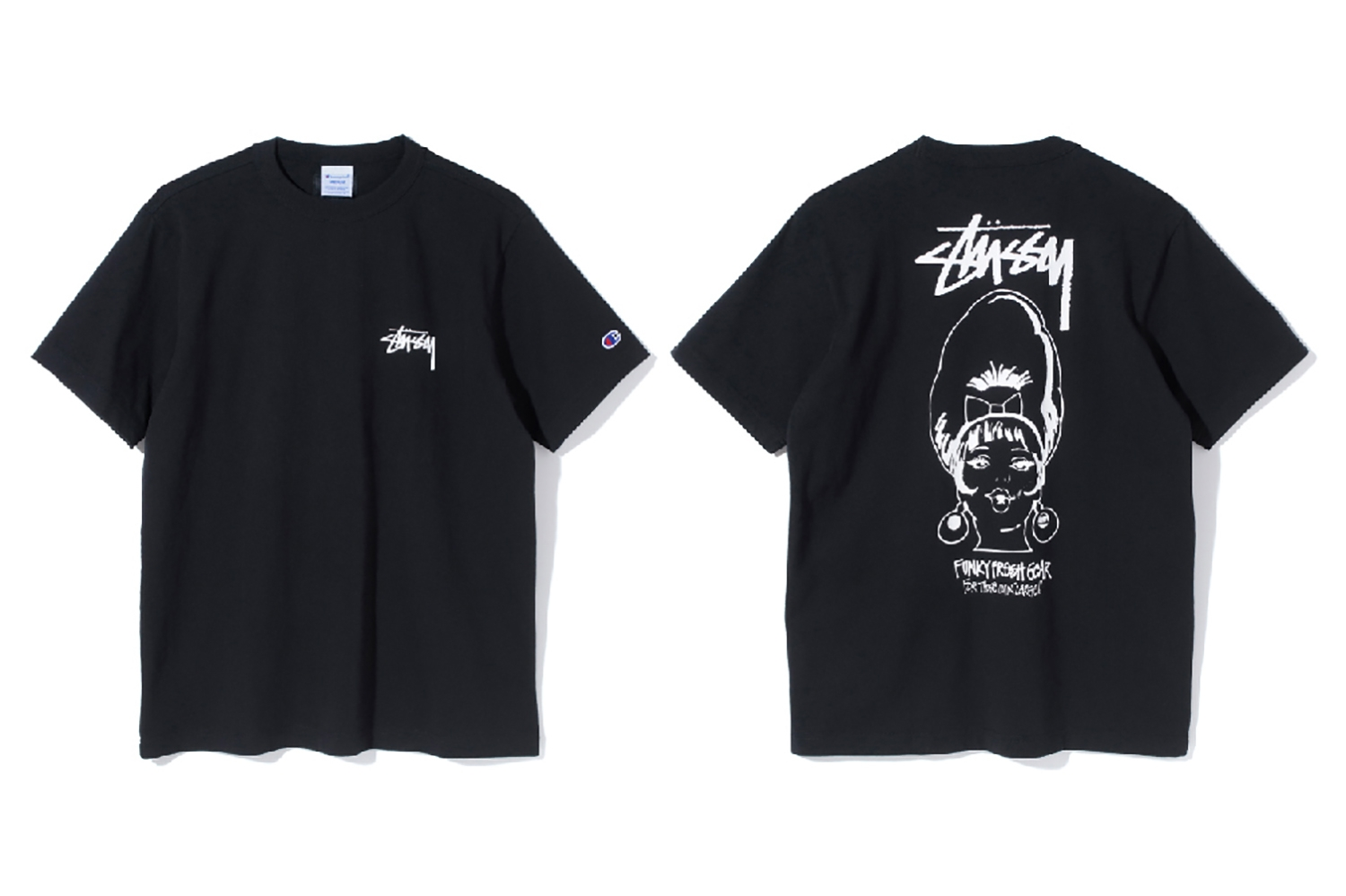 c259e049396 Stüssy x Champion Launch a New Serie of T-Shirts for Spring Summer 2017